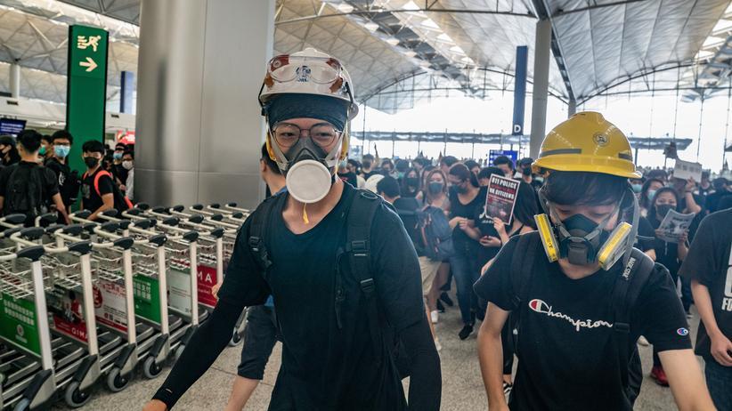 Hongkong: Sie wollen die Gewalt nicht länger hinnehmen