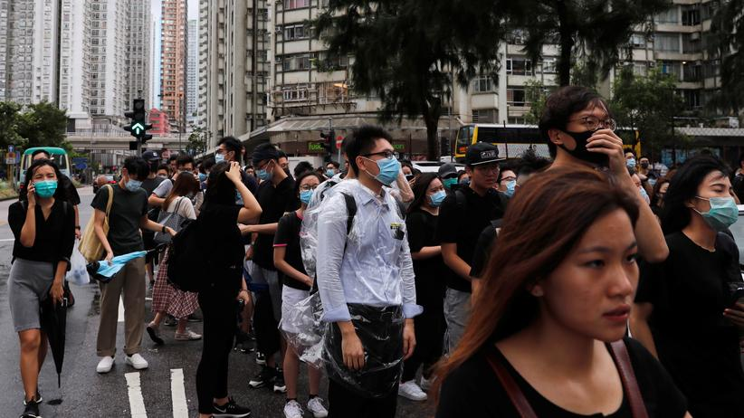 China: Propagandavideo soll Honkongs Protestbewegung einschüchtern