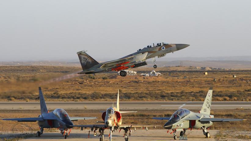 Syrien: Israel meldet Präventivangriff gegen iranische Drohnen