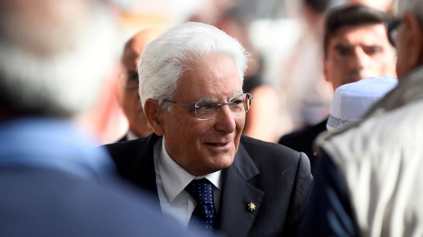 Italiens Präsident sondiert neue Regierungskoalition