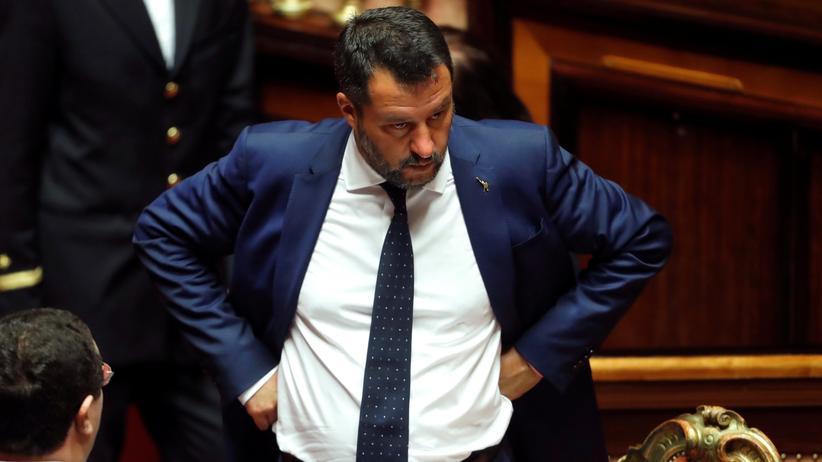 """""""Ich bitte die Italiener um die ganze Macht"""""""