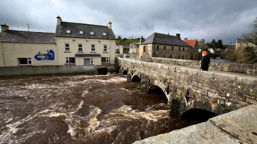 Backstop: Der Termon River läuft entland der Grenze zwischen Nordirland und der Republik Irland.