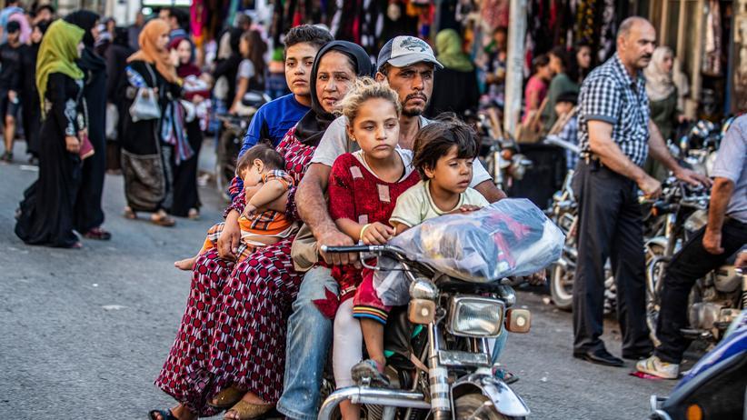 Nordsyrien: In der Stadt Kamischli im Norden Syriens leben vor allem Kurden.