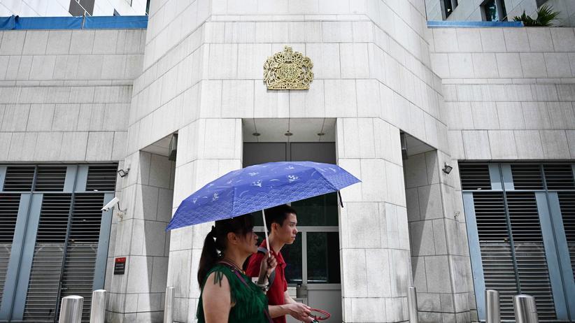 China nimmt Mitarbeiter des britischen Konsulats in Hongkong fest