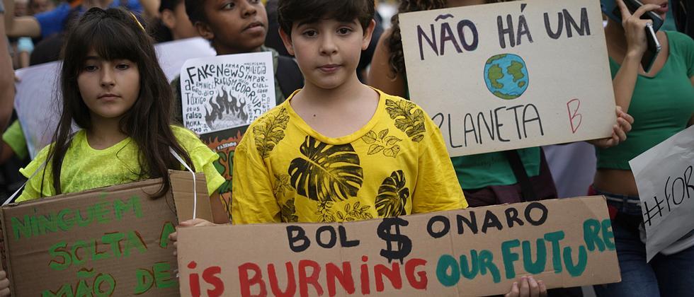 Waldbrände: Jair Bolsonaro fordert Entschuldigung von Emmanuel Macron