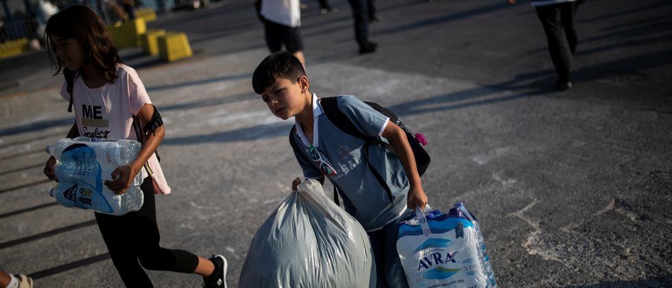 Flüchtlingspolitik: EU-Kommission drängt Griechenland zu mehr Abschiebungen