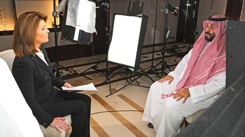 Angriffe auf Öl-Anlagen: Saudi-Arabiens Kronprinz Mohammed bin Salman im Interview mit dem US-Sender CBS.