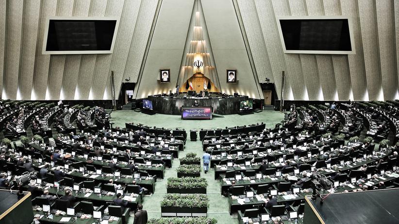 Atomabkommen: Das iranische Parlament in der Hauptstadt Teheran