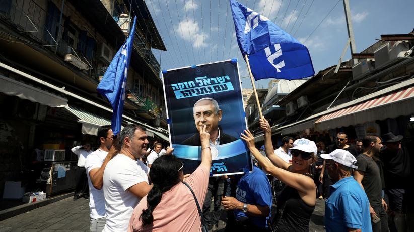 Israel: Likud will Einheitsregierung mit gleichberechtigten Partnern