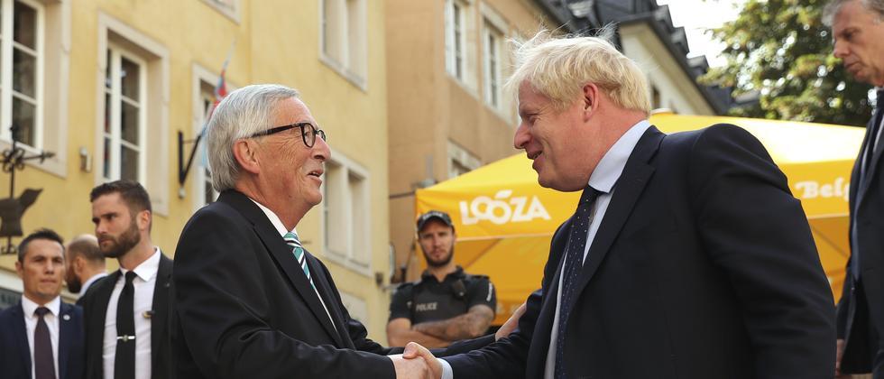 Brexit: Keine Einigung bei Treffen von Juncker und Johnson
