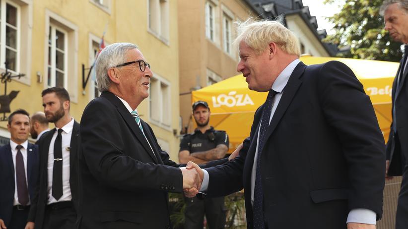Keine Einigung bei Treffen von Juncker und Johnson