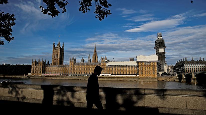 Brexit: Das britische Parlament in London