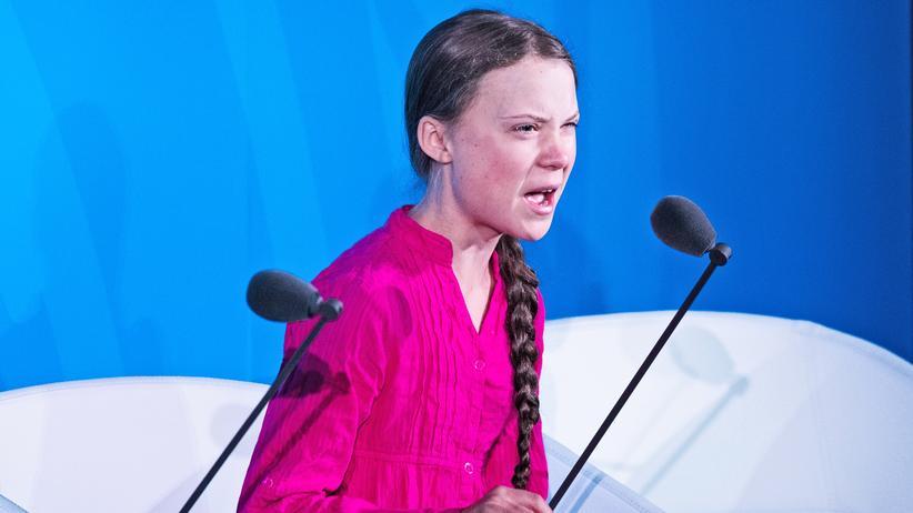 """""""Greta Thunberg scheint ein glückliches junges Mädchen zu sein"""""""