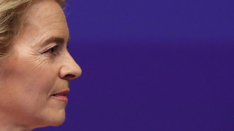 EU-Kommission: Ursula von der Leyen in Brüssel