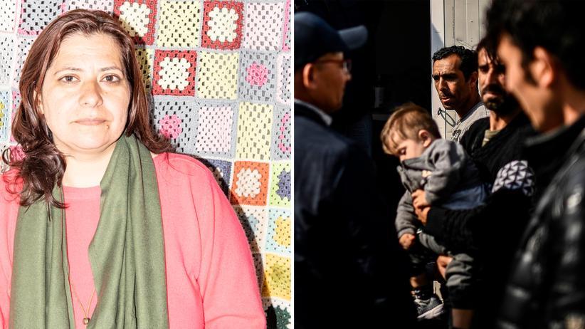 Flüchtlingslager auf Lesbos: Die Afghanin Maryam Janikhushk arbeitete sieben Monate im Flüchtlingscamp Moria als Community Leader.