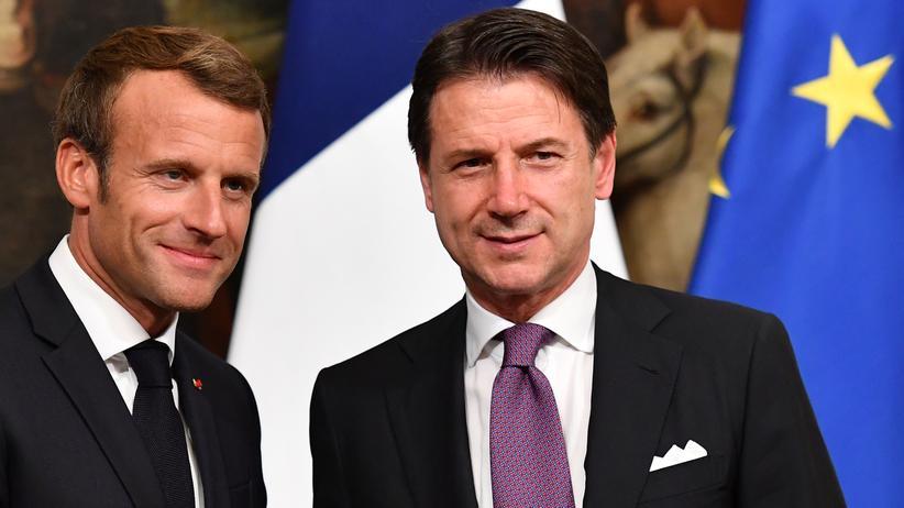 Frankreich und Italien fordern Verteilungsmechanismus für Flüchtlinge