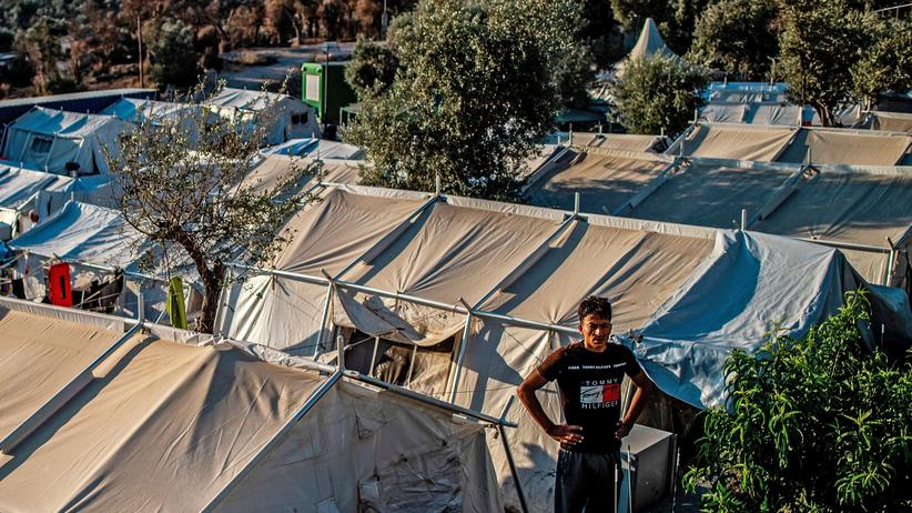 Migration: Ein Flüchtlingscamp auf der griechischen Insel Lesbos