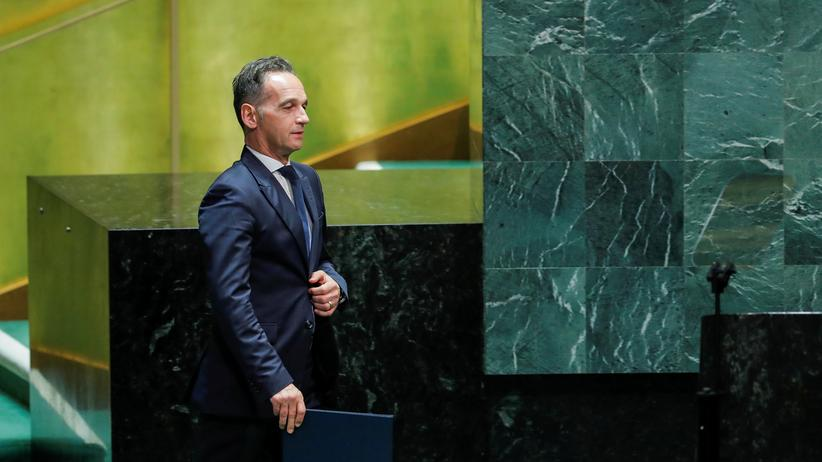 UN-Vollversammlung: Heiko Maas fordert Kooperation statt Alleingang