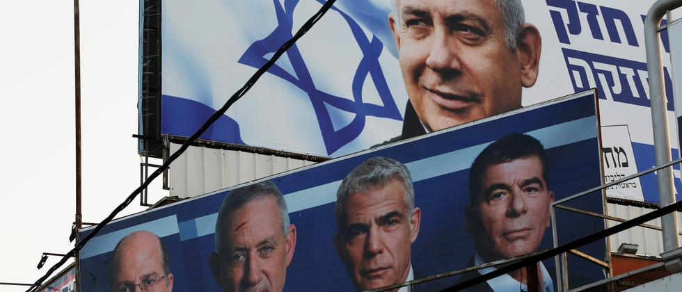 Israel: Benjamin Netanjahu will große Koalition mit Herausforderer Benny Gantz