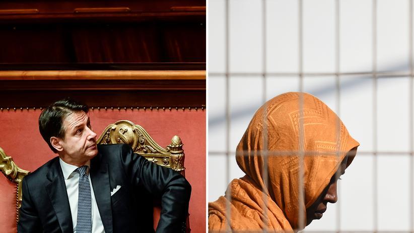 Italien: Der alte und neue Ministerpräsident Italiens, Guiseppe Conte