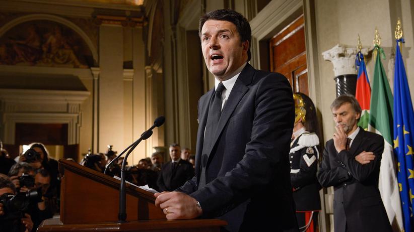 Italien: Matteo Renzi möchte eine eigene Partei gründen.