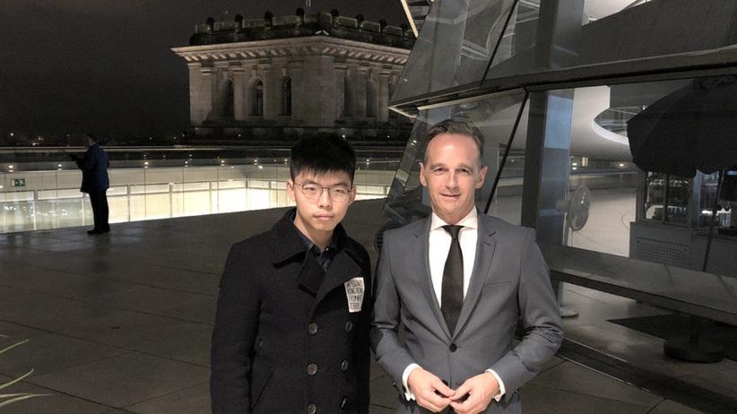 Joshua Wong: China bestellt deutschen Botschafter in Peking ein