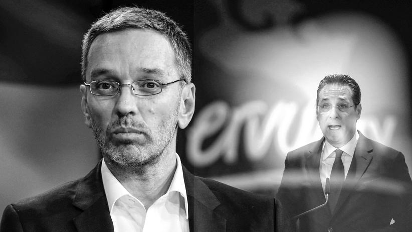 FPÖ: Herbert Kickl und Heinz-Christian Strache