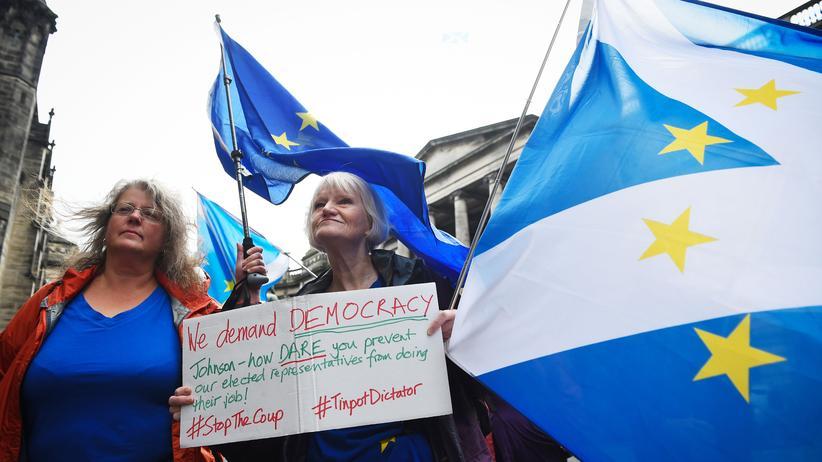 Parlamentspause: Schottisches Gericht wertet Zwangspause als illegal