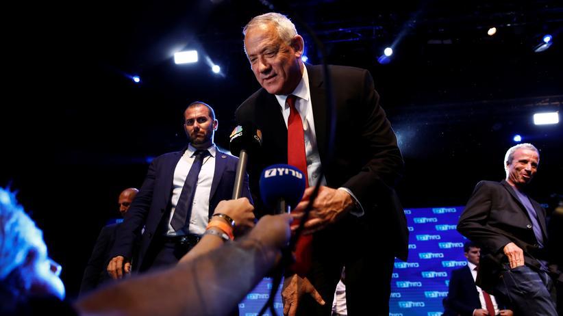 Likud und Blau-Weiß: Patt nach Parlamentswahl in Israel