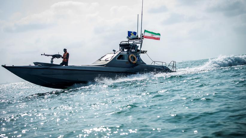 Persischer Golf: Ein Schiff der iranischen Küstenwache im Persischen Golf
