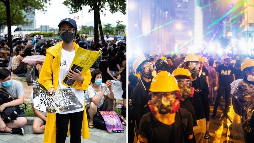 Proteste in Hongkong: Warum gründen sie nicht einfach eine Partei?