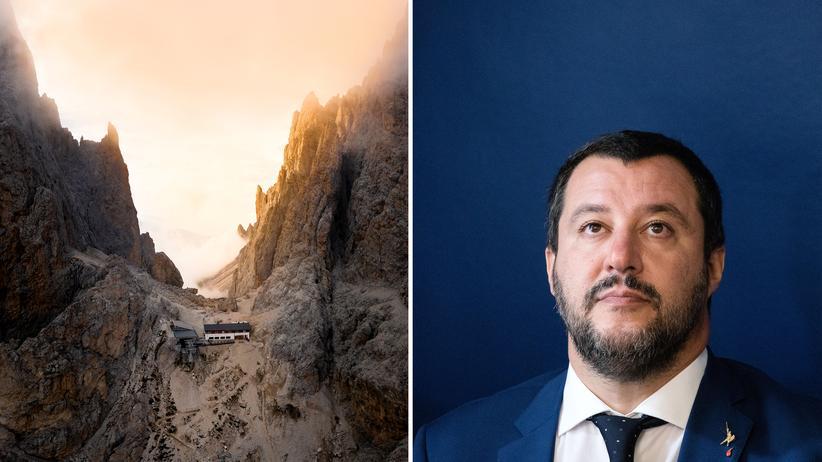 Südtirol: Die Lega von Matteo Salvini (rechts) regiert in Südtirol noch mit.