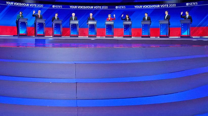 US-Demokraten: Da waren's wieder sieben
