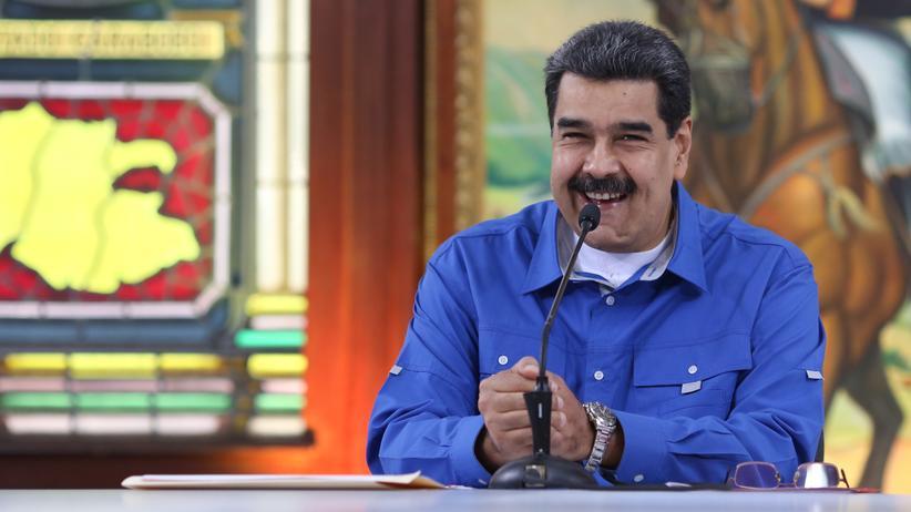 Venezuela: Venezuelas Staatschef Nicolás Maduro