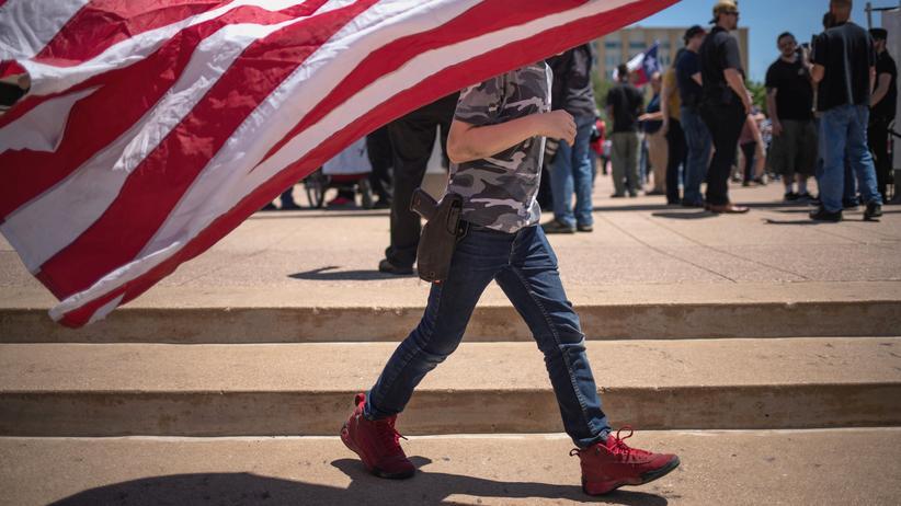 Waffengewalt: San Francisco erklärt NRA zur Terrororganisation
