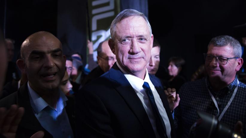 Wahlausgang in Israel: Benny Gantz will selbst Regierungschef werden