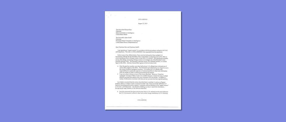 Whistleblower: Die Beschwerde im Wortlaut
