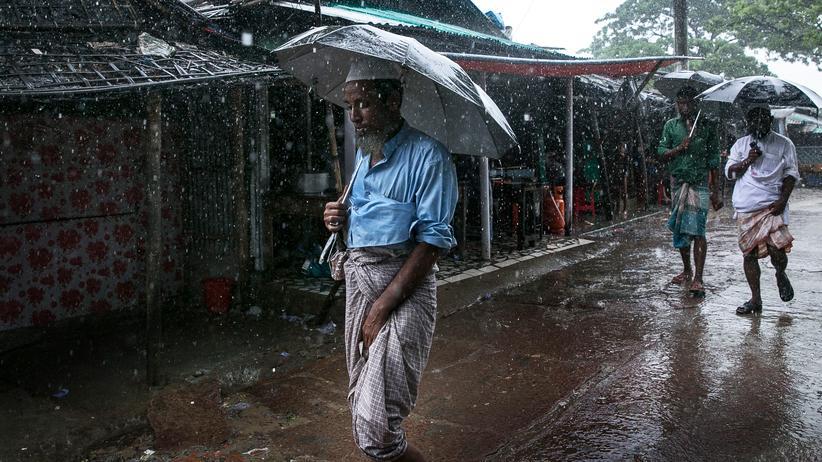 Rohingya: Bangladesch will Geflüchtete auf flutgefährdeter Insel unterbringen