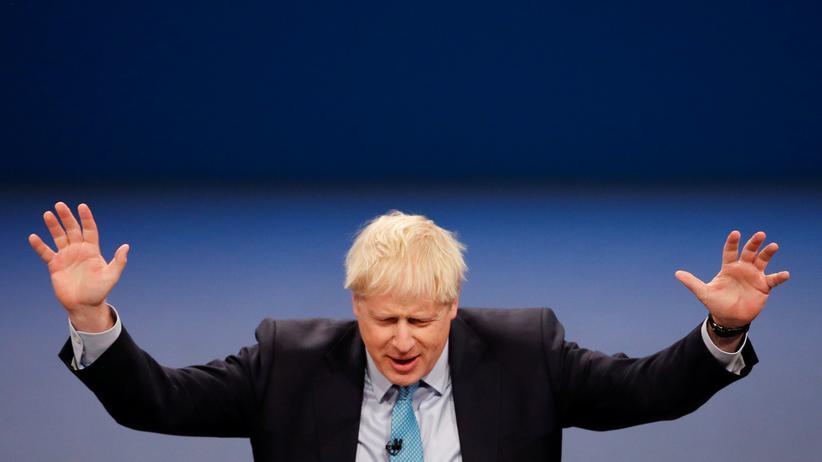 Boris Johnson: Er meint es doch eh nicht ernst