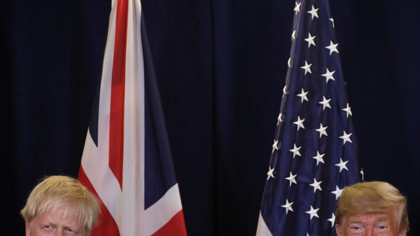 EU-Austritt: Donald Trump kritisiert Boris Johnsons Brexit-Abkommen