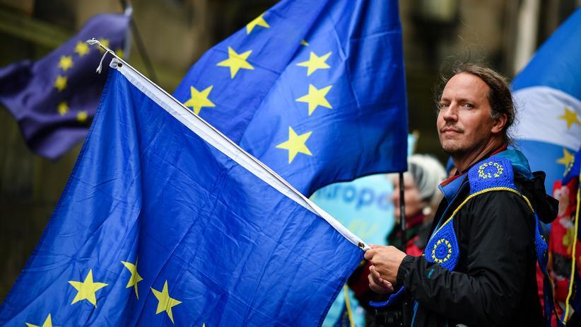 EU-Austritt: Ein Brexit-Gegner in London