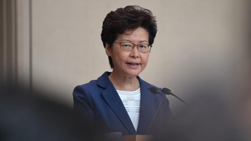 Carrie Lam: Hongkongs Regierungschefin
