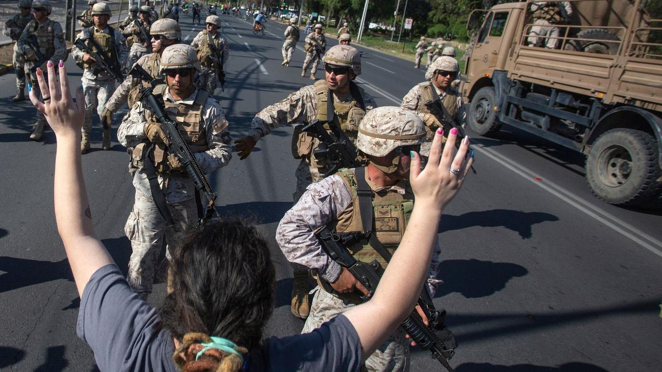 """Chile: """"Die Demokratie hat die Pflicht, sich zu verteidigen"""""""