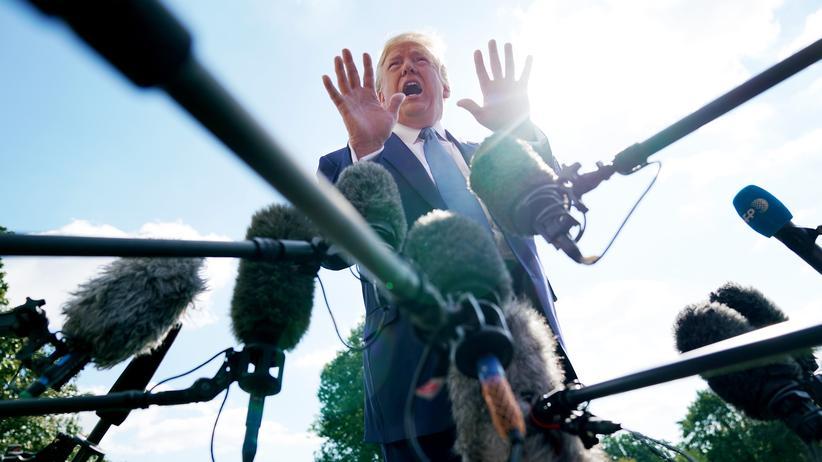 US-Präsident: Im Mai hatte das Bundesgericht die Offenlegung von Donald Trumps Steuererklärung angefordert. Der Präsident ging daraufhin in Berufung.