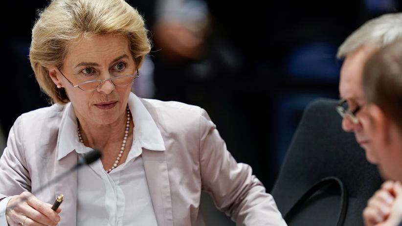 EU-Kommission: Die zukünftige EU-Kommissionspräsidentin Ursula von der Leyen bei einem EU-Gipfel in Brüssel am 18. Oktober 2019.