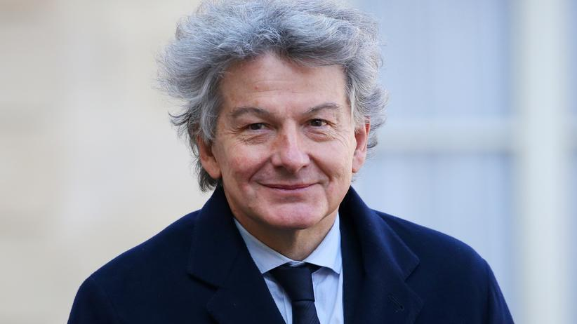 Thierry Breton: Soll für Frankreich nach Brüssel: der frühere Finanzminister und bisherige Atos-Chef Thierry Breton.