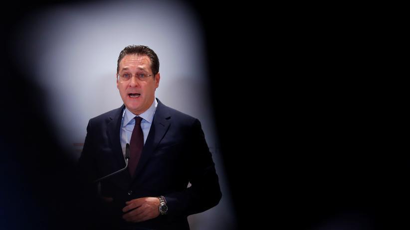 Österreich: In seiner Partei – vorerst  – nicht mehr erwünscht: der frühere FPÖ-Chef Heinz-Christian Strache.