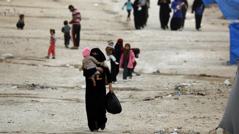 """""""Islamischer Staat"""": IS-Leute brechen aus kurdischem Haftlager aus"""