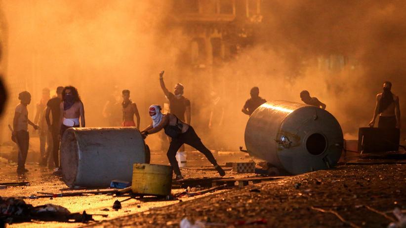 Libanon: Viele Verletzte bei Ausschreitungen in Beirut