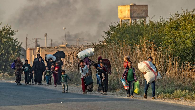 Nordsyrien: Die Kurden stehen allein da